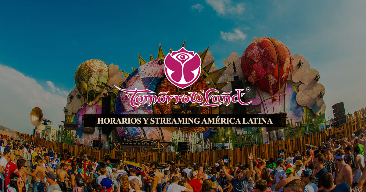 Horarios latinoamérica y line-up Tomorrowland Europa 2016