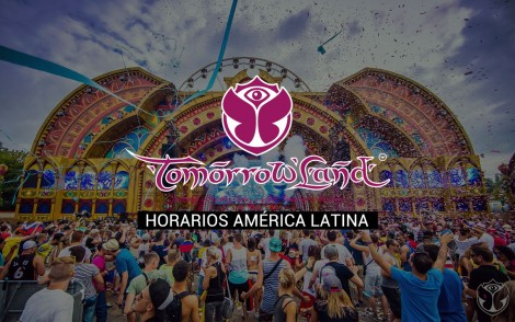 Horarios latinoamérica y Line-up Tomorrowland Europa 2015