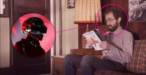 Thomas Bangalter de Daft Punk aparece sin máscara en una nueva película
