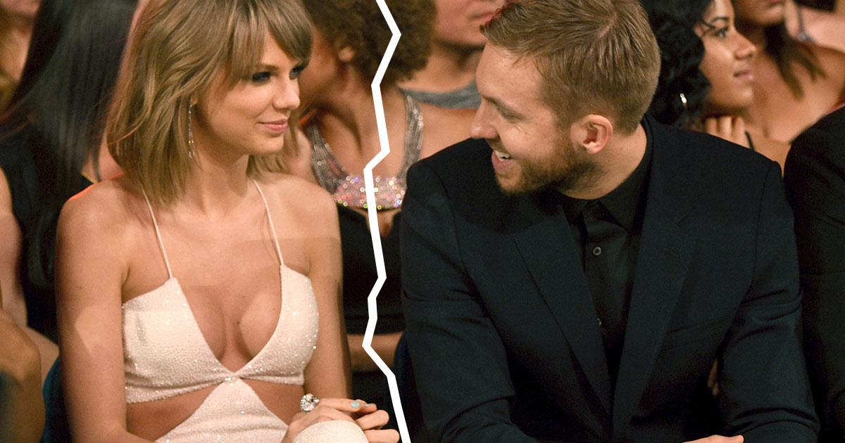 Calvin Harris single again! Breaks with Taylor Swift