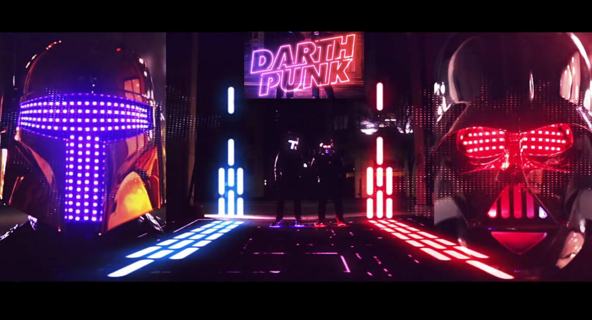 Darth Punk: Cuando juntas a Daft Punk con Stars Wars