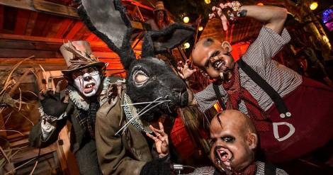 ¡Da miedo! Trailer de macabra Fiesta de Halloween en Los Ángeles