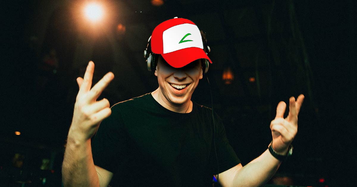 Hardwell Playing Pokemon Song at Ultra 2016