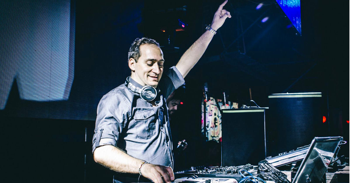 Paul van Dyk falls off the stage during show in Utrecht, NL