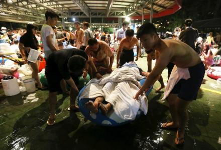 Color Play Taiwan: La pista de baile se convirtió en un infierno