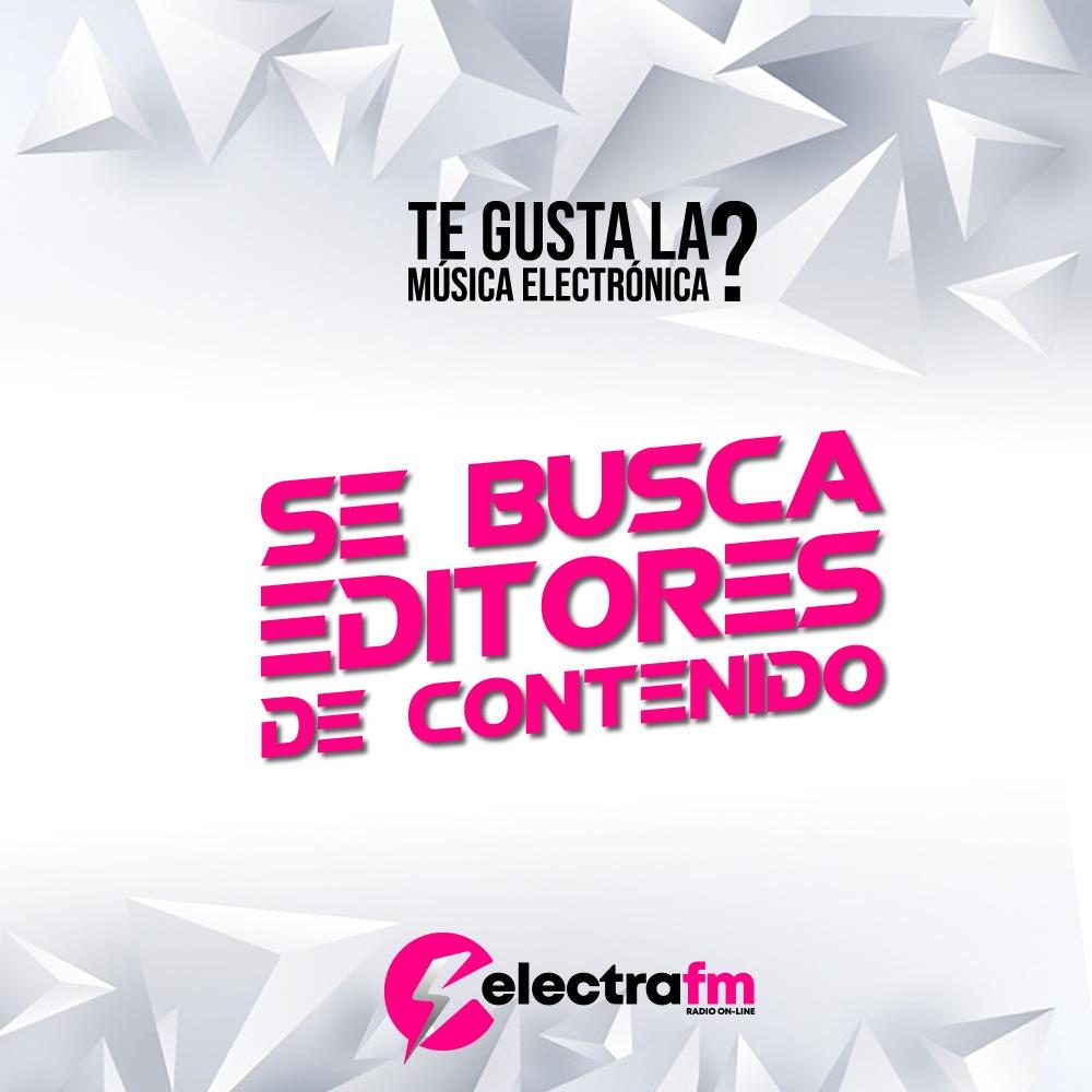 UNETE AL EQUIPO DE ELECTRAFM