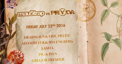 Confirmado Eric Prydz + Deadmau5 en Tomorrowland 2016